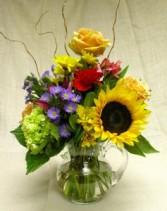 Tuscan Spring Vase Arrangment