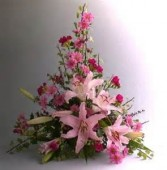 Fragrant Spring Basket Arrangment