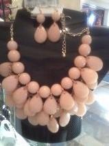 01 teardrop necklace $ earrings