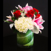 Passion Beautiful Roses, Liliy's & Hydrangeas- Compact For Long Lasting Enjoyment!