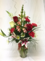Holiday Elegance vase