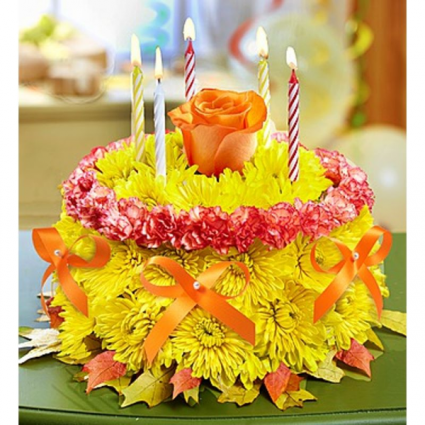 1 800 Flowers Birthday Flower CakeR For Fall