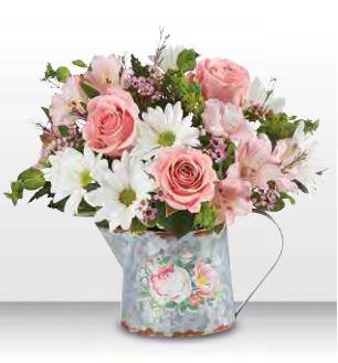 1-800 Flowers Delightful Day Boquet Vase Arrangement