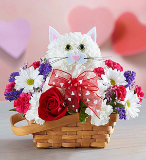 1-800-Flowers Flirty Feline™  in Valley City, OH | HILL HAVEN FLORIST & GREENHOUSE