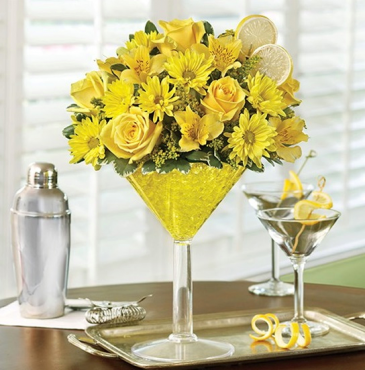 1-800 Flowers Lemon Martini Bouquet™