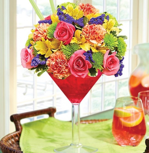 1-800 Sangria Bouquet™  in Saint Cloud, FL | Bella Rosa Florist