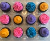 1 dozen Chocolate or Vanilla Cupcakes
