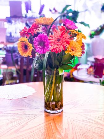 1 Dozen Gerberas Floral Arrangement