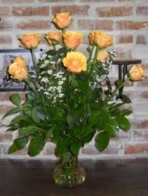 1 Dozen Novelty Color Roses - VAL - 1 Roses