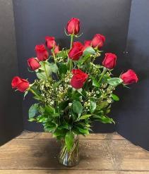 1 Dozen red roses  - VAL - 1 Roses