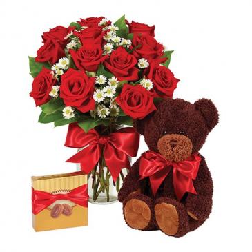 1 Dozen Roses - Red Bundle