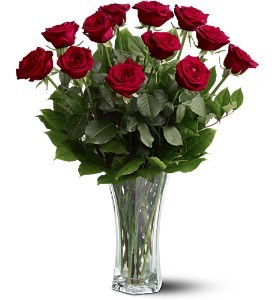 Dozen Red Roses Rose Bouquet in Whitesboro, NY | KOWALSKI FLOWERS INC.