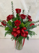 1 Dozen Roses Roses in Plantation, Florida | Pink Pussycat Flower and Gift Shop