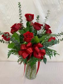 1 Dozen Roses Roses