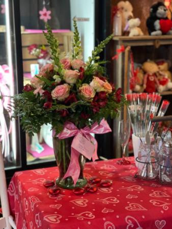 1 dozen roses  Valentine's