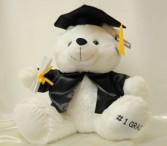 #1 Grad Bear Graduation Bear
