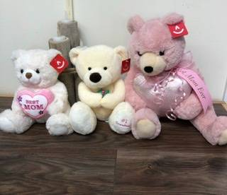 Bear hugs for mom Plush bears