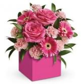 Pinkest of pinks Floral elegance
