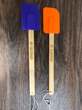 #1 teacher Engraved spatula