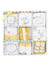 10-Piece Baby Gift Set - Yellow