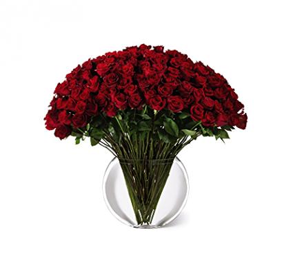 100 Long Stemmed Roses Arrangement
