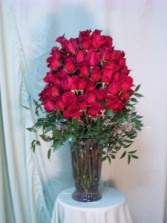 100 Premium Red Roses,  Exquisite Gift
