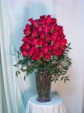 100 Premium Red Roses,  Exquisite Gift