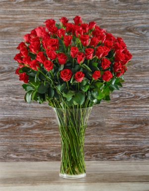 100 Red Roses Bouquet  Roses  in Trumann, AR | Blossom Events & Florist