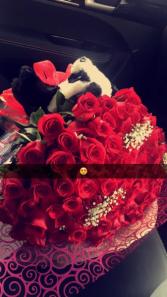 100 rose bouq