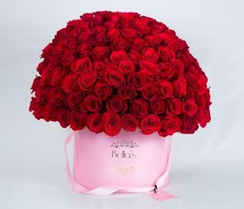 100 ROSE BOX