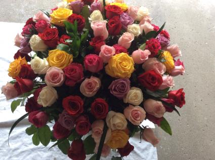 100 Roses for you  100 Roses arrangement