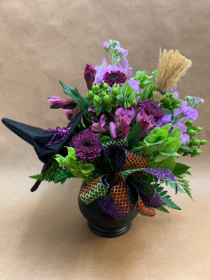 100% That Witch Halloween BOOquet in Moses Lake, WA | FLORAL OCCASIONS
