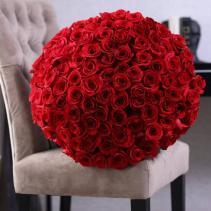 101 roses bouquet Hand bouquet
