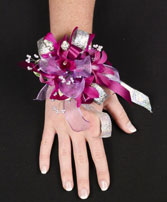 White Wristlet Prom Corsage In Florence Sc Mums The Word Florist