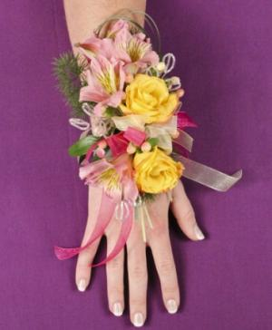 PASTEL POTPOURRI Prom Corsage in Ozone Park, NY | Heavenly Florist