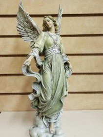 """Glorious Angel - Full Color  Statue (16"""" height)"""