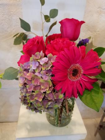 #11 roses and hydrangea