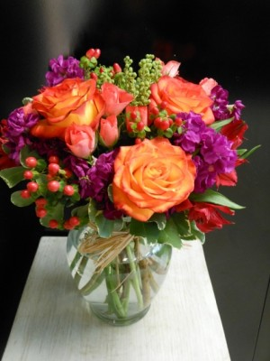 Fire in the Vase EN-15 in Teaneck, NJ | ENCKE FLOWERS
