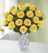 12- 24 yellow roses