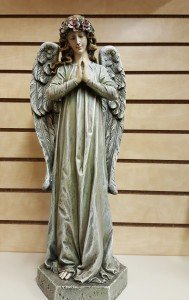 "Praying Angel  21"" Statue"