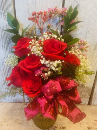 1/2 doz. roses any color/ please specify
