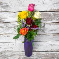 1/2 Dozen Mixed Roses Roses