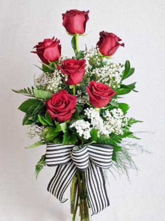 1/2 Dozen Red Roses