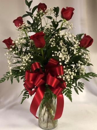 1/2 Dozen Roses Bouquet