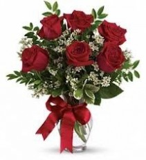 1/2 Dozen Roses Rose Bouquet