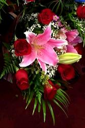 1/2 Dz Rose Bouquet