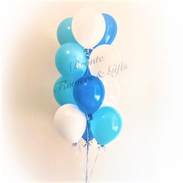 12 Mix Colour Latex Balloon Bouquet Latex Balloon Bouquet