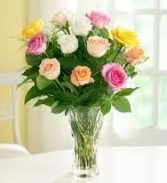 12 Mixed Roses Special Sale