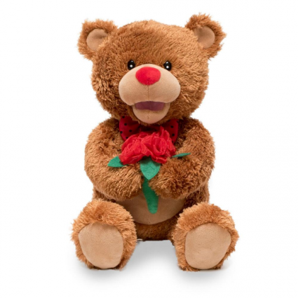 Singing Oso Valentino Teddy Bear