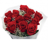 12 Wrapped Roses WR12